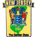 Eagle Emblems PM6731 Patch-New Jersey (State Map) (3
