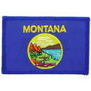Eagle Emblems PM6827 Patch-Montana (Flag) (2-1/4