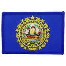 Eagle Emblems PM6830 Patch-New Hampshire (Flag) (2-1/4