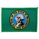 Eagle Emblems PM6848 Patch-Washington (Flag) (2-1/4