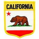 Eagle Emblems PM6905 Patch-California (Shield) (2-7/8