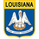 Eagle Emblems PM6919 Patch-Louisiana (Shield) (2-7/8