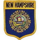 Eagle Emblems PM6930 Patch-New Hampshire (Shield) (2-7/8