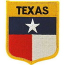 Eagle Emblems PM6944 Patch-Texas (Shield) (2-7/8