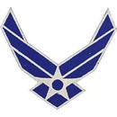 Eagle Emblems PM7014 Patch-Usaf Symbol (04) (4