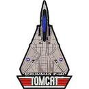 Eagle Emblems PM7355 Patch-Usn, F-14 (5-1/2
