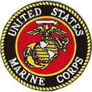 Eagle Emblems PM7388 Patch-Usmc Logo (04) (Ylw/Wht) (4
