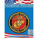 Eagle Emblems PM7500 Patch-Usmc Logo, Gold Bullion (Lrg) (4