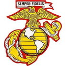 Eagle Emblems PM7685 Patch-Usmc Ega (05) (Slv/Gld) (5-1/2