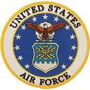 Eagle Emblems PM7995 Patch-Usaf Emblem (05) (5