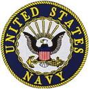 Eagle Emblems PM7999 Patch-Usn Logo (05) (5