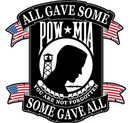 Eagle Emblems PM9032 Patch-Pow*Mia (Black) (8
