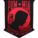 Eagle Emblems PM9090 Patch-Pow*Mia (Red) (12