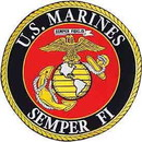Eagle Emblems PM9105 Patch-Usmc Logo, Semper Fi (Xlg) (10