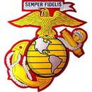 Eagle Emblems PM9115 Patch-Usmc Ega (12) (Ylw/Wht) (12