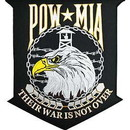Eagle Emblems PM9160 Patch-Pow*Mia, Their War (12