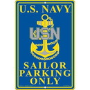 Eagle Emblems SG7514 Sign-U.S.Navy Parking (8