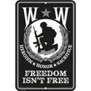 Eagle Emblems SG7522 Sign-Wounded Warrior (8