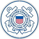 Eagle Emblems SG9015 Sign-U.S.Coast Guard Logo (12