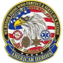 Eagle Emblems SG9018 Sign-American Heroes (12