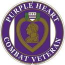 Eagle Emblems SG9021 Sign-Purple Heart (12