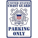 Eagle Emblems SG9115 Sign-U.S.Coast Guard Parking (12