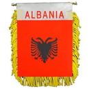 Eagle Emblems WF1002 Mini-Ban, Int, Albania (3
