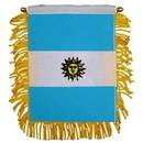 Eagle Emblems WF1005 Mini-Ban, Int, Argentina (3