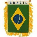Eagle Emblems WF1014 Mini-Ban, Int, Brazil (3