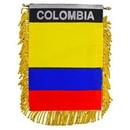 Eagle Emblems WF1018 Mini-Ban, Int, Colombia (3