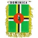 Eagle Emblems WF1025 Mini-Ban, Int, Dominicana (3