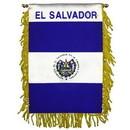 Eagle Emblems WF1030 Mini-Ban, Int, El Salvador (3