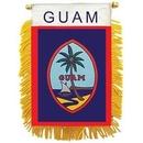 Eagle Emblems WF1037 Mini-Ban, Int, Guam (3