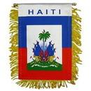 Eagle Emblems WF1045 Mini-Ban, Int, Haiti (3