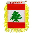 Eagle Emblems WF1065 Mini-Ban, Int, Lebanon (3