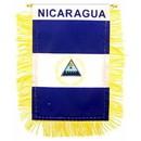 Eagle Emblems WF1077 Mini-Ban, Int, Nicaragua (3