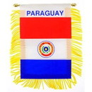 Eagle Emblems WF1085 Mini-Ban, Int, Paraguay (3