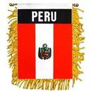 Eagle Emblems WF1086 Mini-Ban, Int, Peru (3