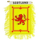 Eagle Emblems WF1103 Mini-Ban, Int, Scotland Lio (3