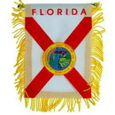 Eagle Emblems WF1510 Mini-Ban, Sta, Florida (3