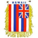 Eagle Emblems WF1512 Mini-Ban, Sta, Hawaii (3