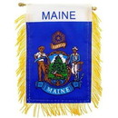 Eagle Emblems WF1520 Mini-Ban, Sta, Maine (3