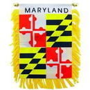 Eagle Emblems WF1521 Mini-Ban, Sta, Maryland (3