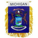 Eagle Emblems WF1523 Mini-Ban, Sta, Michigan (3