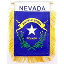 Eagle Emblems WF1529 Mini-Ban, Sta, Nevada (3