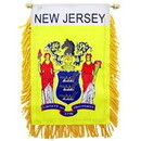 Eagle Emblems WF1531 Mini-Ban, Sta, New Jersey (3