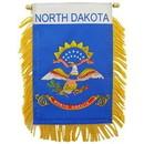 Eagle Emblems WF1535 Mini-Ban, Sta, N.Dakota (3