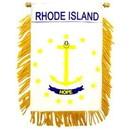 Eagle Emblems WF1540 Mini-Ban, Sta, Rhode Island (3