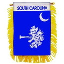 Eagle Emblems WF1541 Mini-Ban, Sta, S.Carolina (3