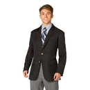 Executive Apparel 1011 The Men's Jet Unlined Polyester Blazer